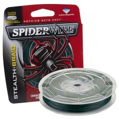 Spiderwire Braided Stealth Superline – 125 Yards 6lb